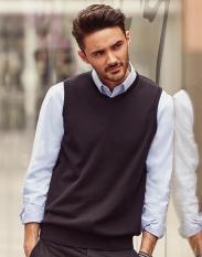 RussellMen's V-Neck Sleeveless Knitted Pullover[R-716M-0]