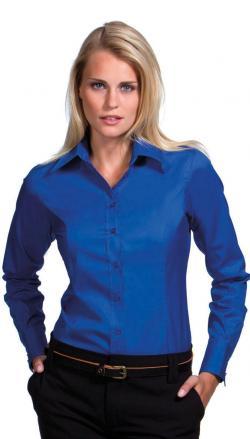 Bluzka Oxford Corporate z długimi rękawami