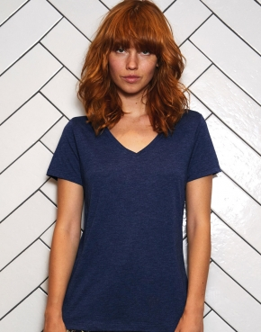 Camiseta V Triblend/women