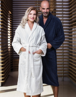 Como Velours Bath Robe