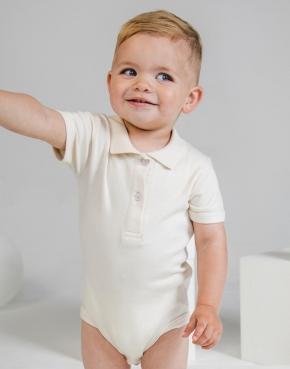 Dziecięce body organiczne Polo