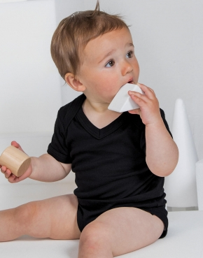 Body Baby scollo a V Organic