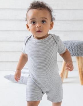 Baby pruhovaný playsuit