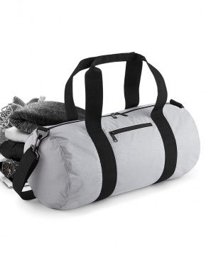 Reflective Barrel Bag