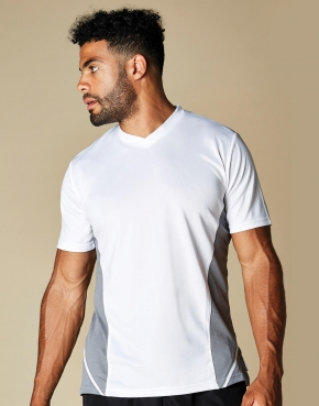 Regular Fit Cooltex® Panel V Neck Tee