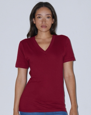 T-Shirt Unisex Fine Jersey V-Neck