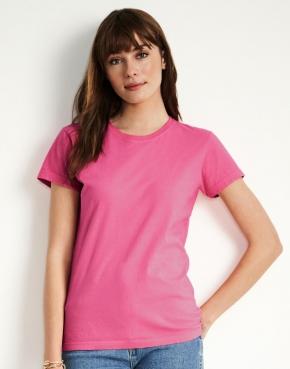 Damski dopasowany t-shirt