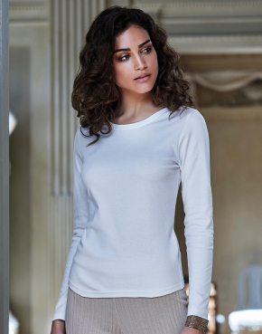 Ladies' LS Interlock T-Shirt