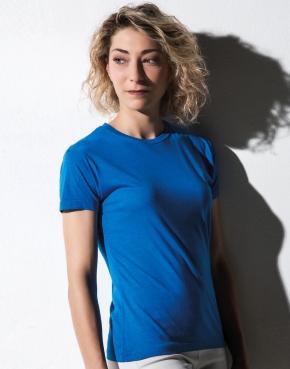 Damski t-shirt Lily z dodatkiem wiskozy