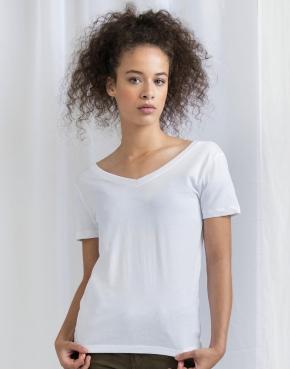Damska koszulka Scoop Back V