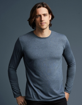 Koszulka z długim rękawem Tri-Blend