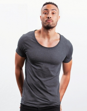Men's Raw Scoop T