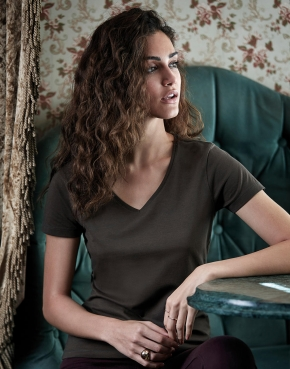 Women's Luxury V-Neck Tee