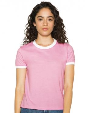 Women's Poly-Cotton Ringer T-Shirt