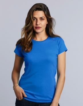 Damski T-shirt Softstyle Ring Spun
