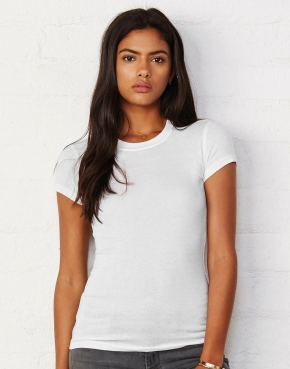 Sheer Mini Rib T-Shirt