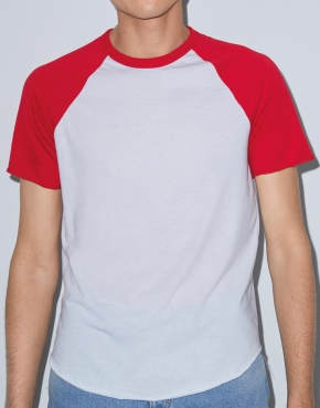 Unisex T-shirt Raglan Poly-Cotton