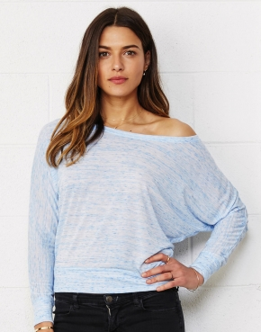 Flowy LS Off Shoulder T-Shirt