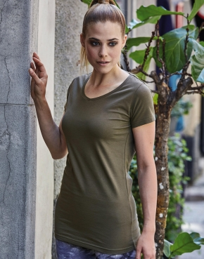 Ladies Stretch Tee Extra Lang