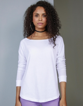 Ladies' Loose Fit LS T