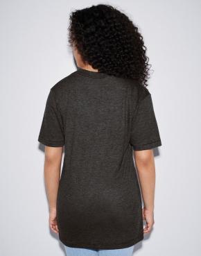 Unisex Tri-Blend Deep V-Neck T-Shirt