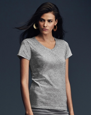 Women's Fashion Basic V-Neck Tee