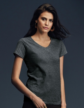 Women's Fashion Basic V-Neck Tee