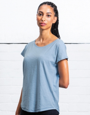 Women's Organic Vintage Slub Loose Fit T