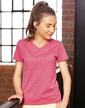 Girls V-Neck HD Tee