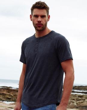 Camiseta orgánica Superstar con botones hombre