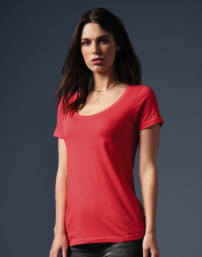 Ladies Featherweight Scoop Tee
