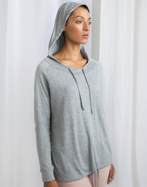 Women's Loose Fit Hooded T