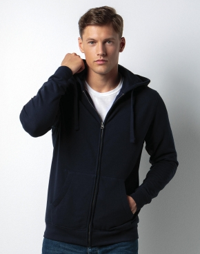 Klassic Hooded Zipped Jacket Superwash® 60°