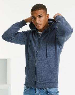 Men's HD Zipped Hood Sweat