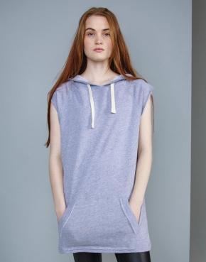 Women's Oversized Sleeveless Hoodie