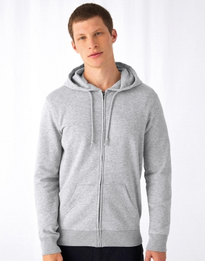 Organic Zipped Hooded