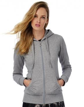 Wonder/women Hooded Zip Sweat