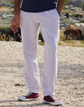 Pantalón con bajos abiertos