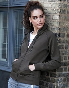 Ladies Fashion Full Zip Hood