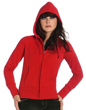 Ladies' Hooded Full Zip - WW642
