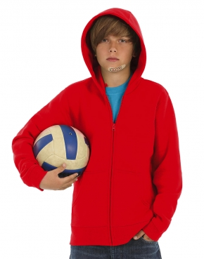 Kids' Hooded Full Zip - WK682