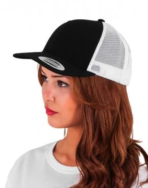 Dwukolorowa czapka Retro Trucker
