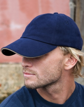 Sandwich Brushed Cotton Cap