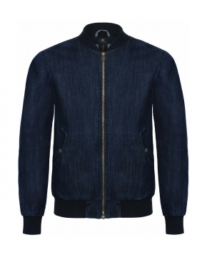 Denim Bomber Jacket- JMD14