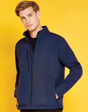 Regular Fit Soft Shell Jacket
