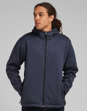 Fleece con capucha hombre