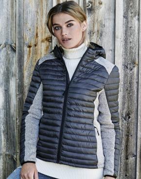 Ladies Hooded Outdoor Crossover Jacket