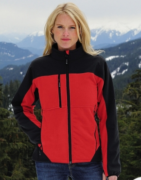 Ladies' Hybrid Softshell