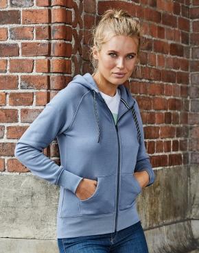 Ladies' Fashion Full Zip Hood