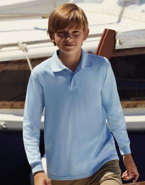 Kids' 65/35 Long Sleeve Polo